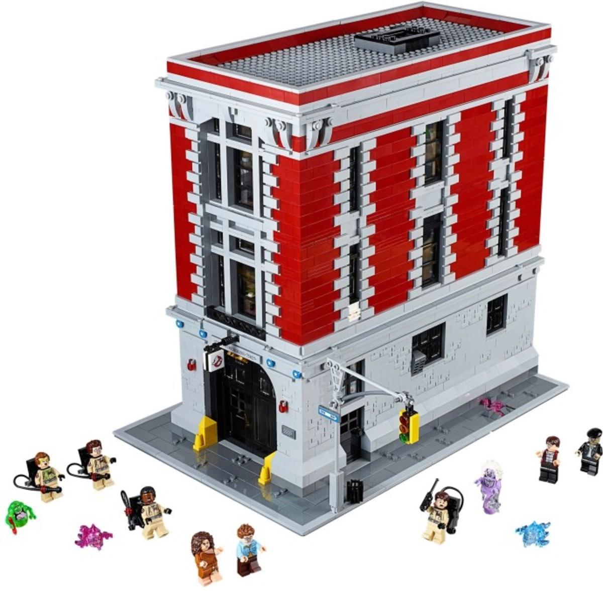 LEGO Firehouse Headquarters