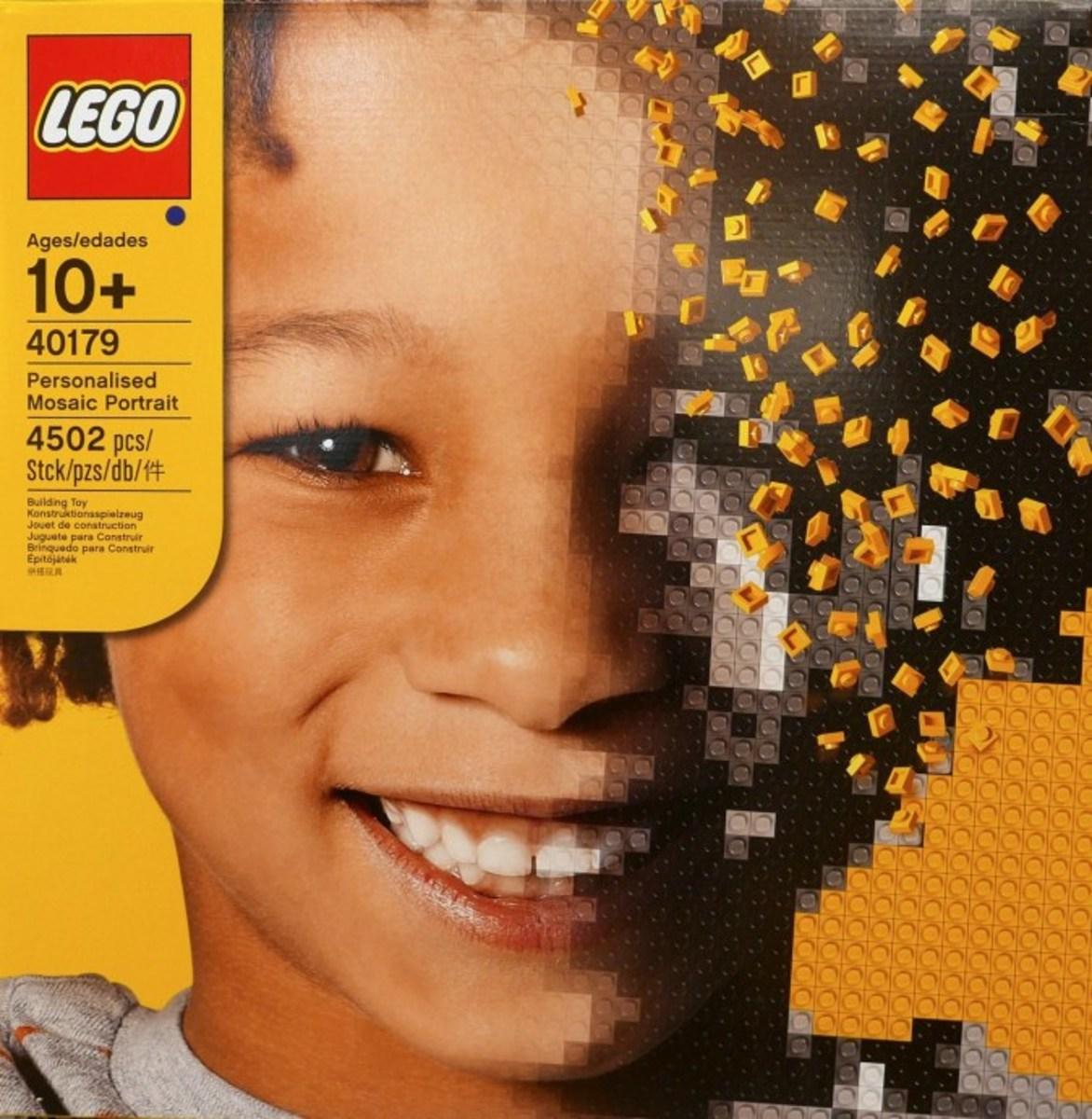 LEGO Personalized Mosaic Portrait