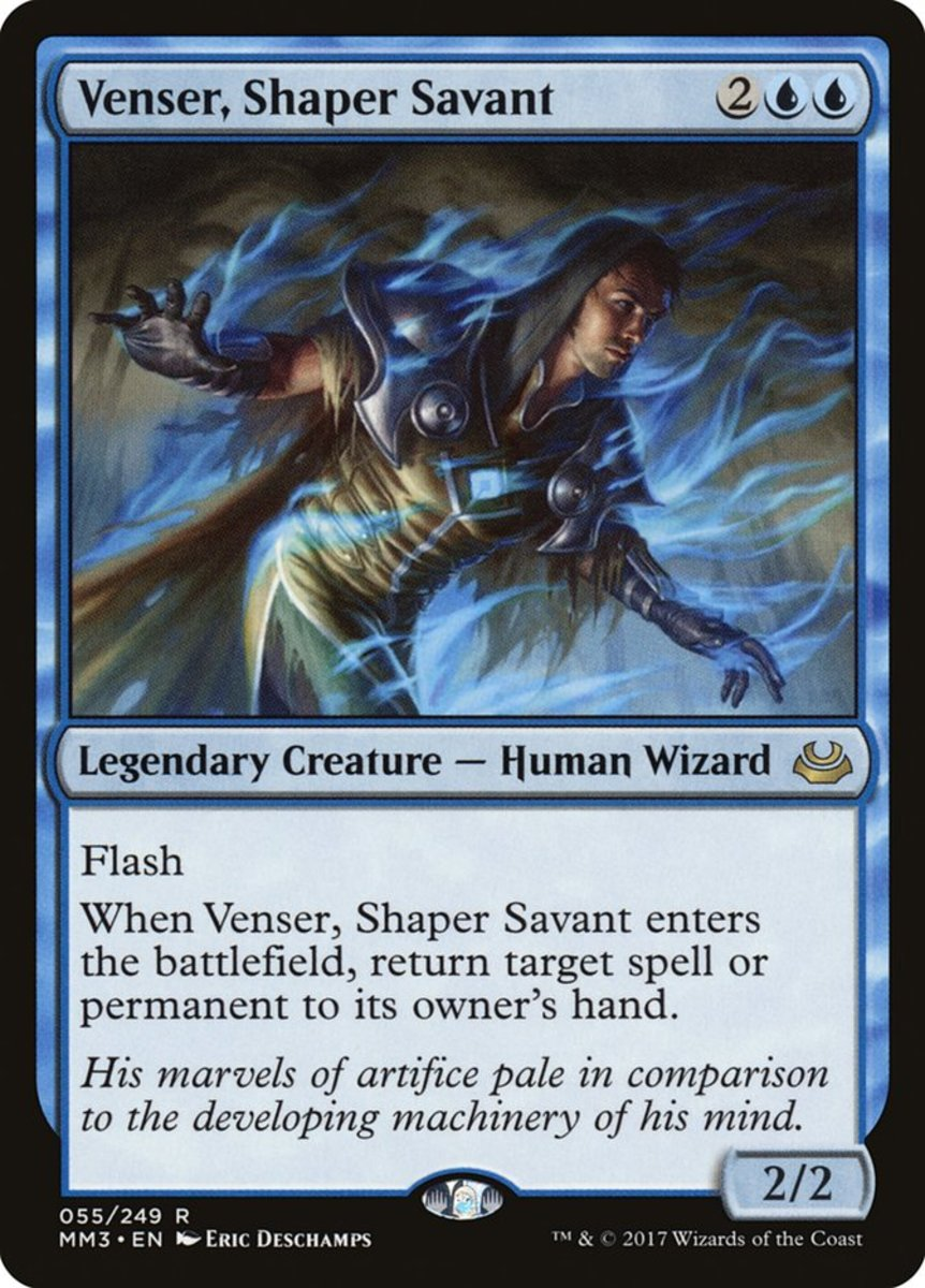 Venser, Shaper Savant mtg