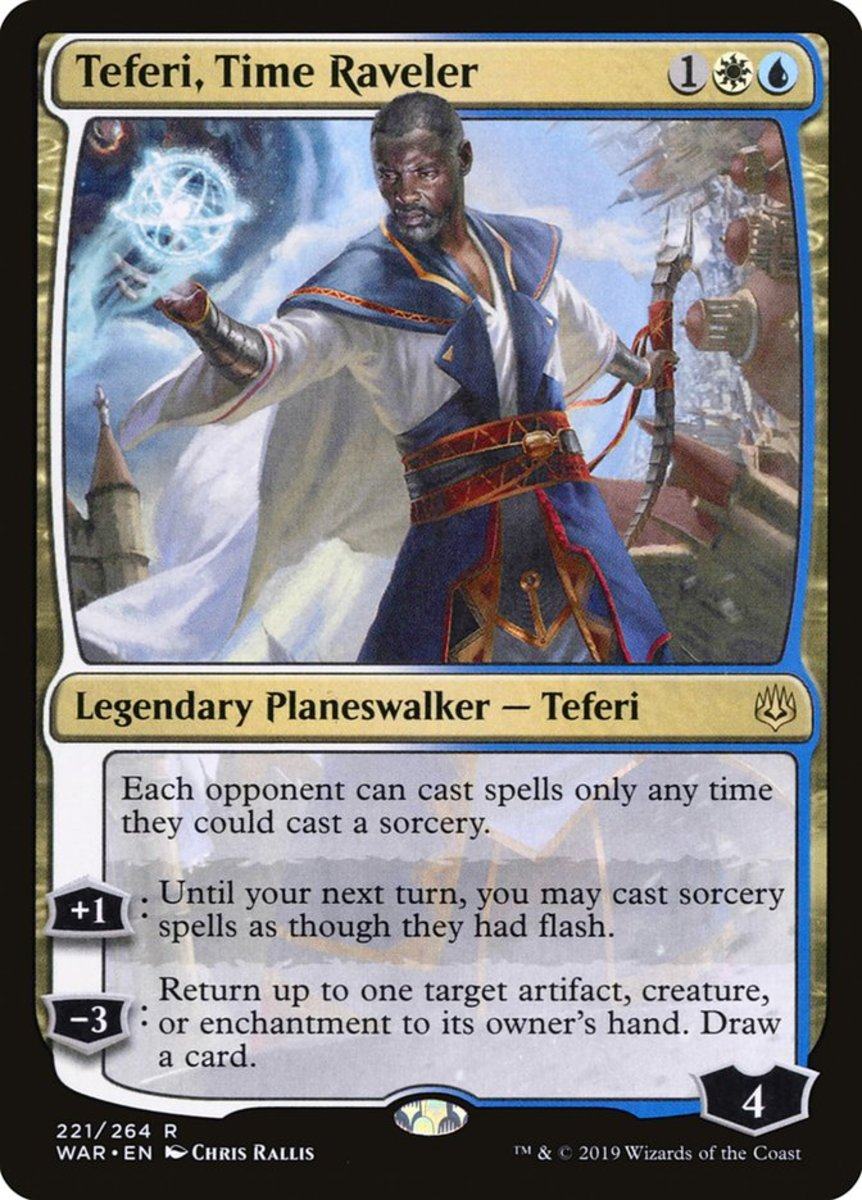 Teferi, Time Raveler mtg
