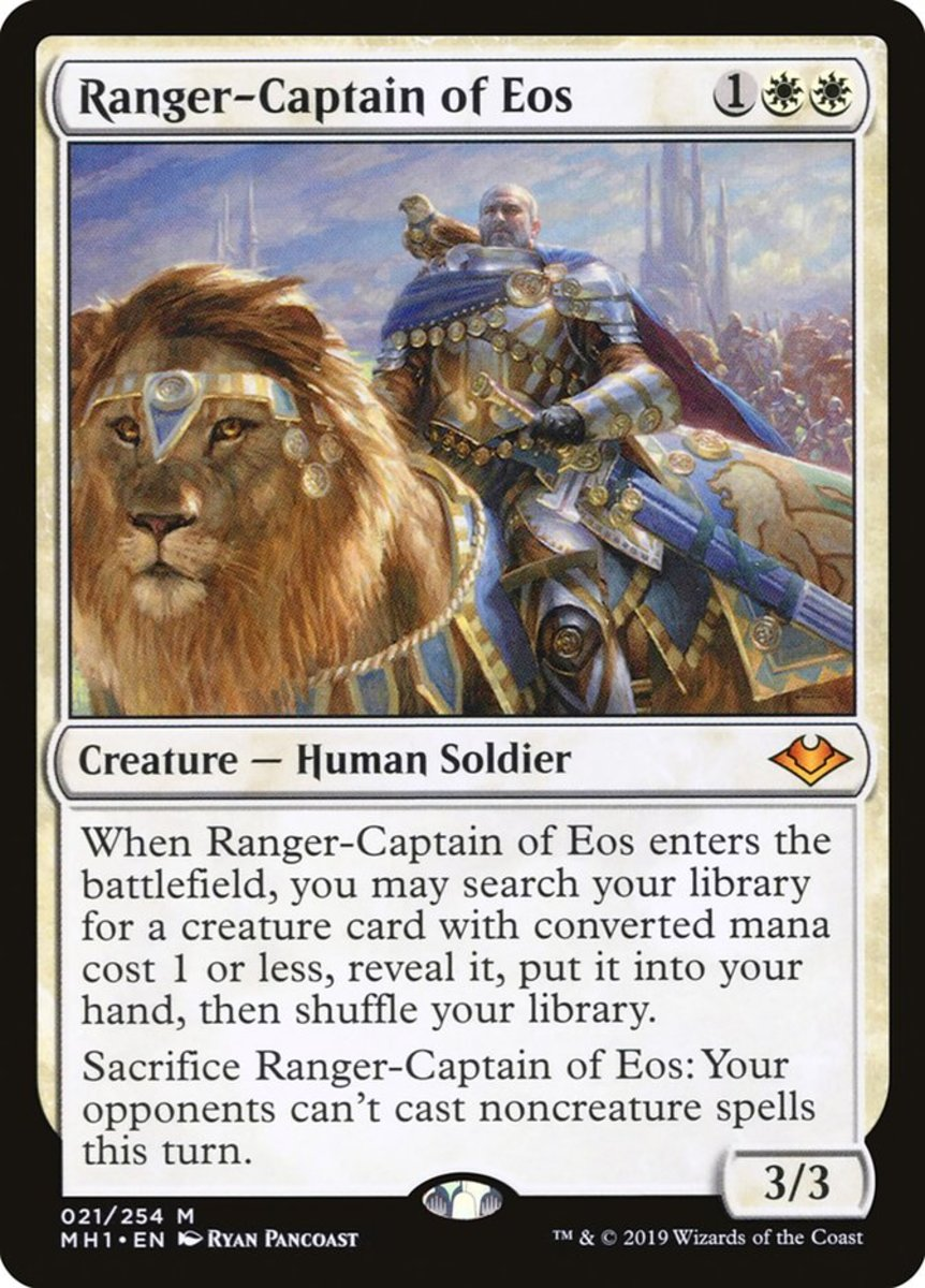 Ranger-Captain of Eos mtg