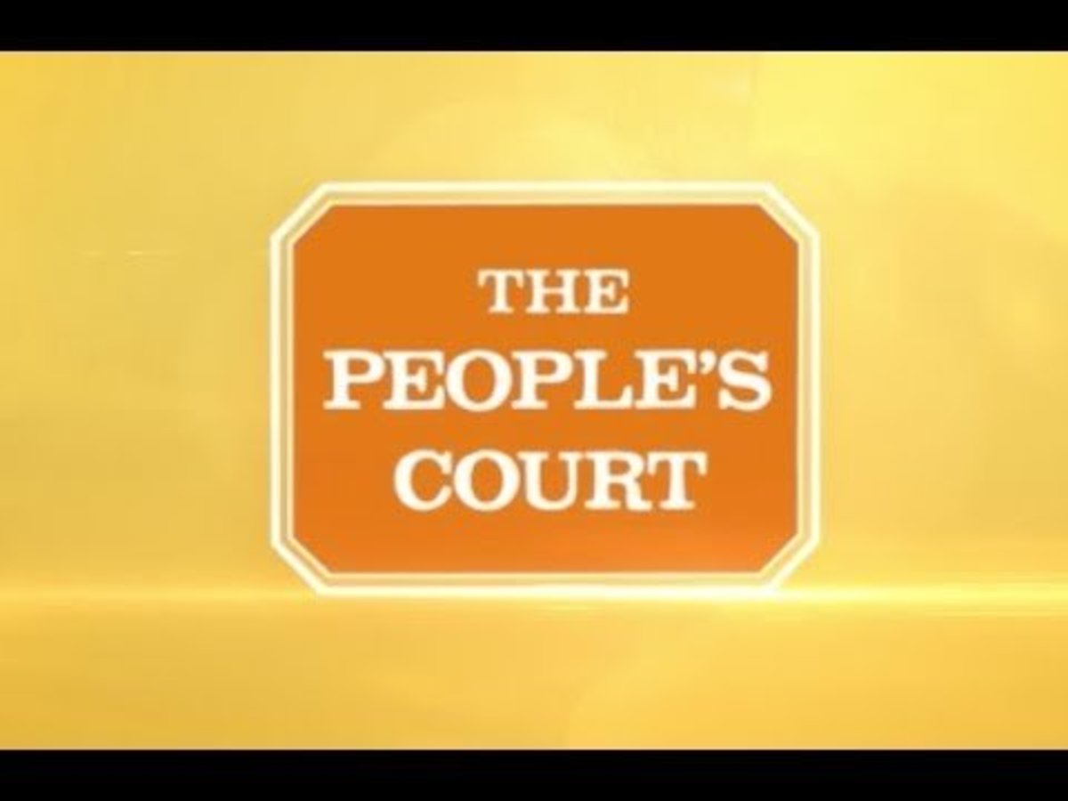 In 1981, The People's Court—a reality court show that featured small claims disputes in a simulated courtroom—premiered on syndicated television.
