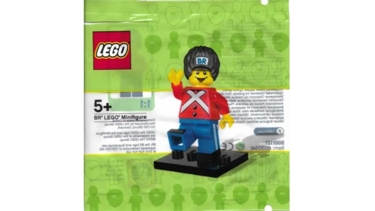 BR LEGO Minifigure Promotional Polybag 5001121 Review