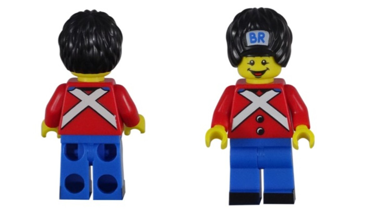 BR LEGO Minifigure Promotional Polybag 5001121 Front and Back