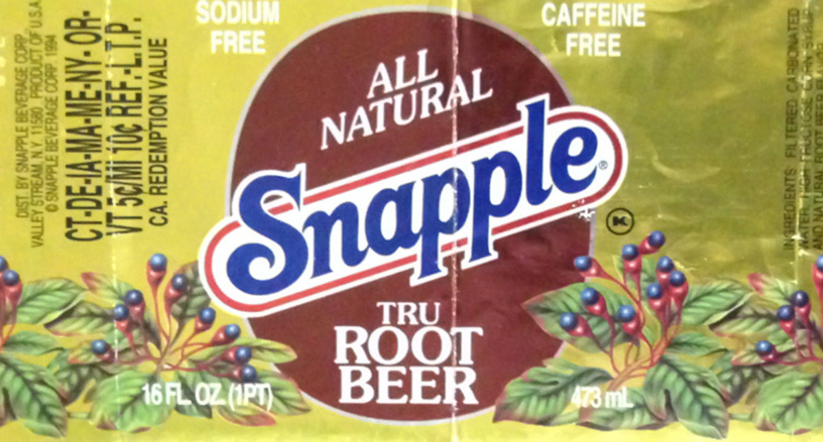In 1983, Snapple Tru root beer was a popular beverage.