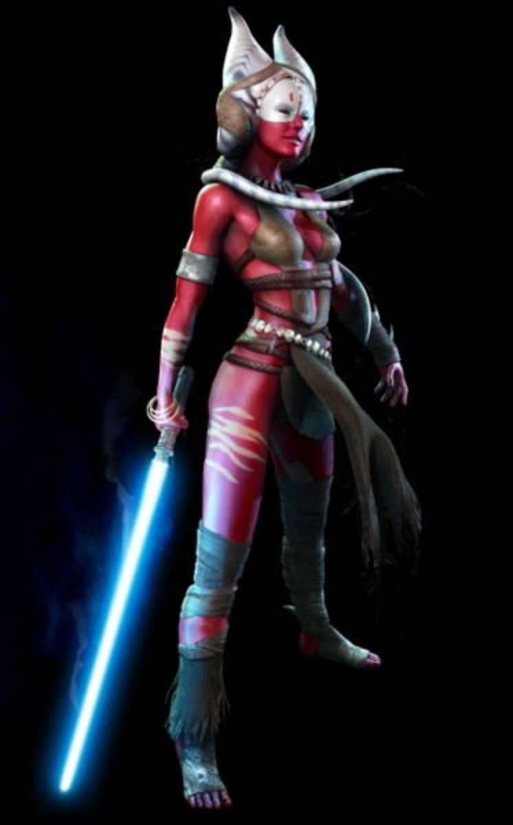"Shaak Ti in ""The Force Unleashed."