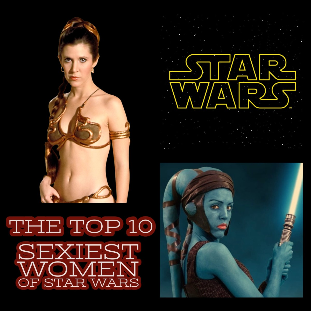 From Twi'leks to the Echani, this article examines the top 10 Sexiest Women of Star Wars.