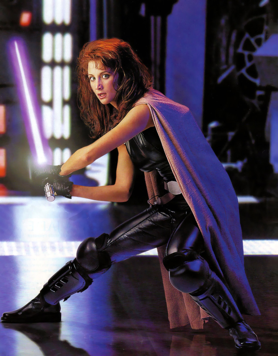 The beautiful Mara Jade Skywalker.