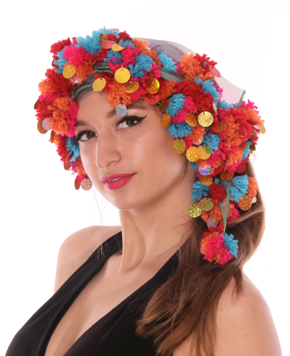 Melaya Leff headdress (available from Bellydance.com)