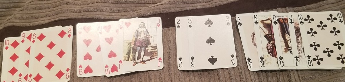 Use playing cards to reinforce what your read and enhance your understanding.