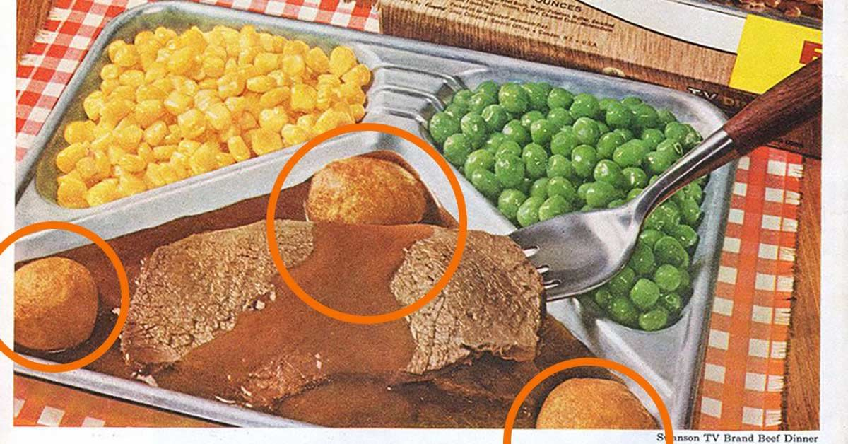 In 1970, frozen TV dinners cost 39 cents apiece.