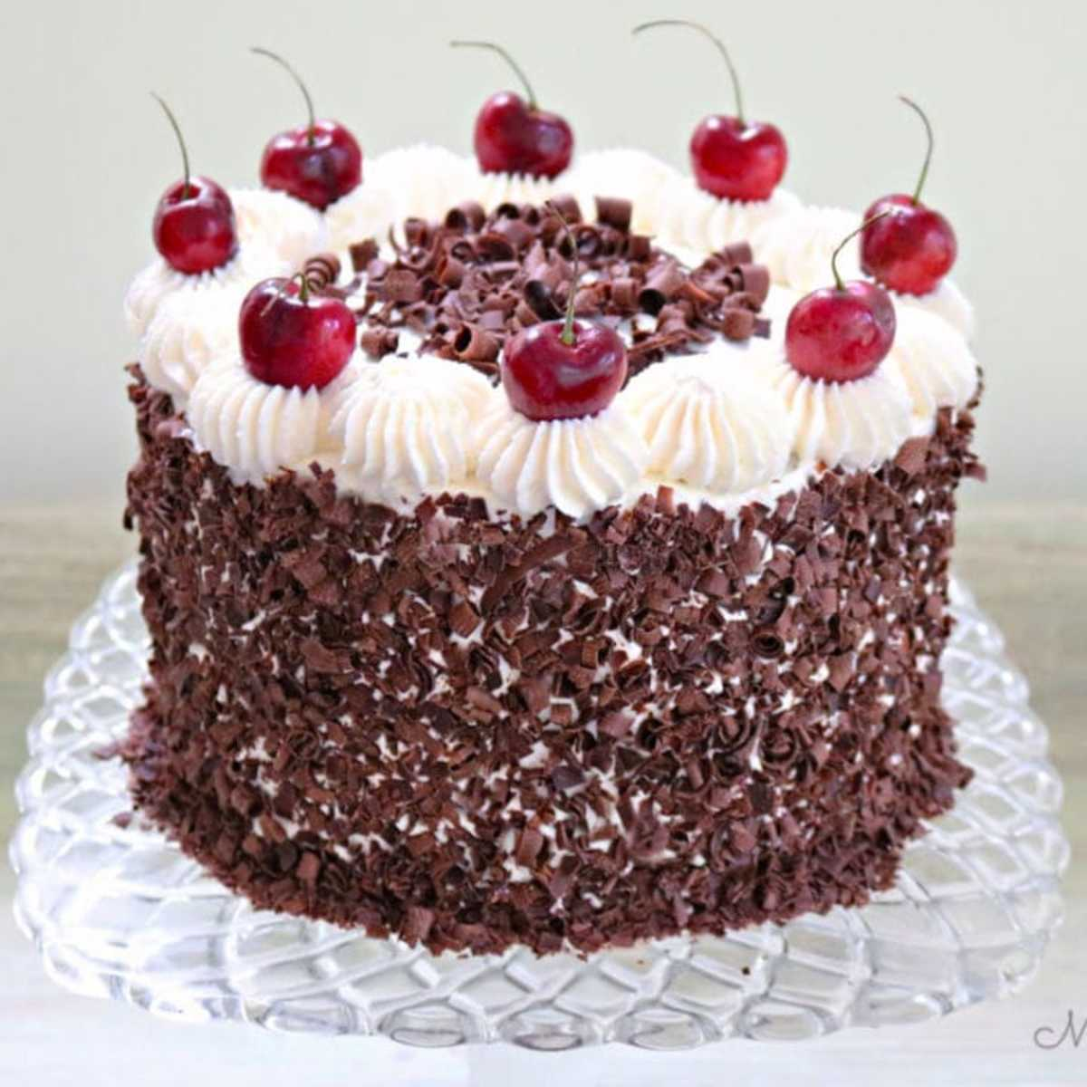 In 1970, Black Forest cake was all the rage.