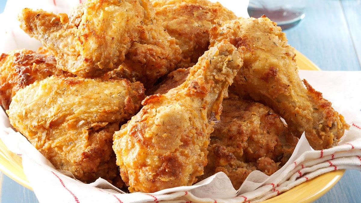 In 2018, fried chicken was a real crowd-pleaser.