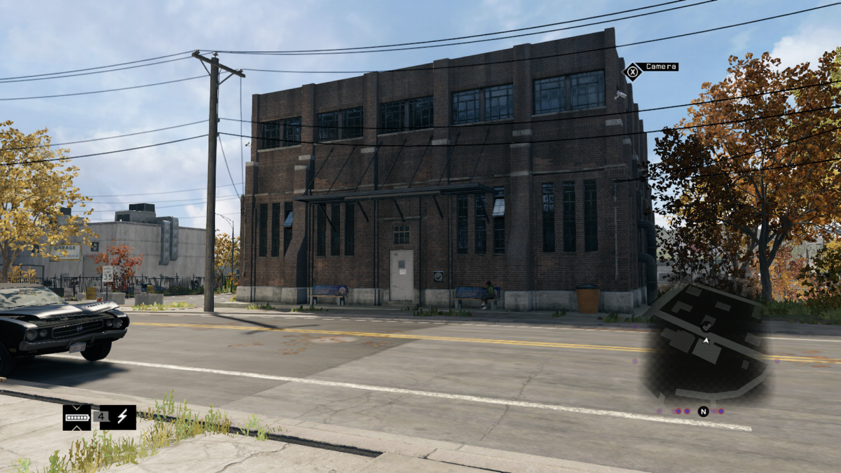 For some reason it's a warehouse in the game.