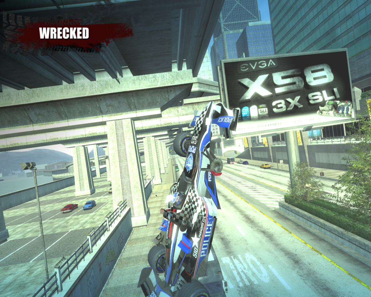 Wrecked in Burnout Paradise