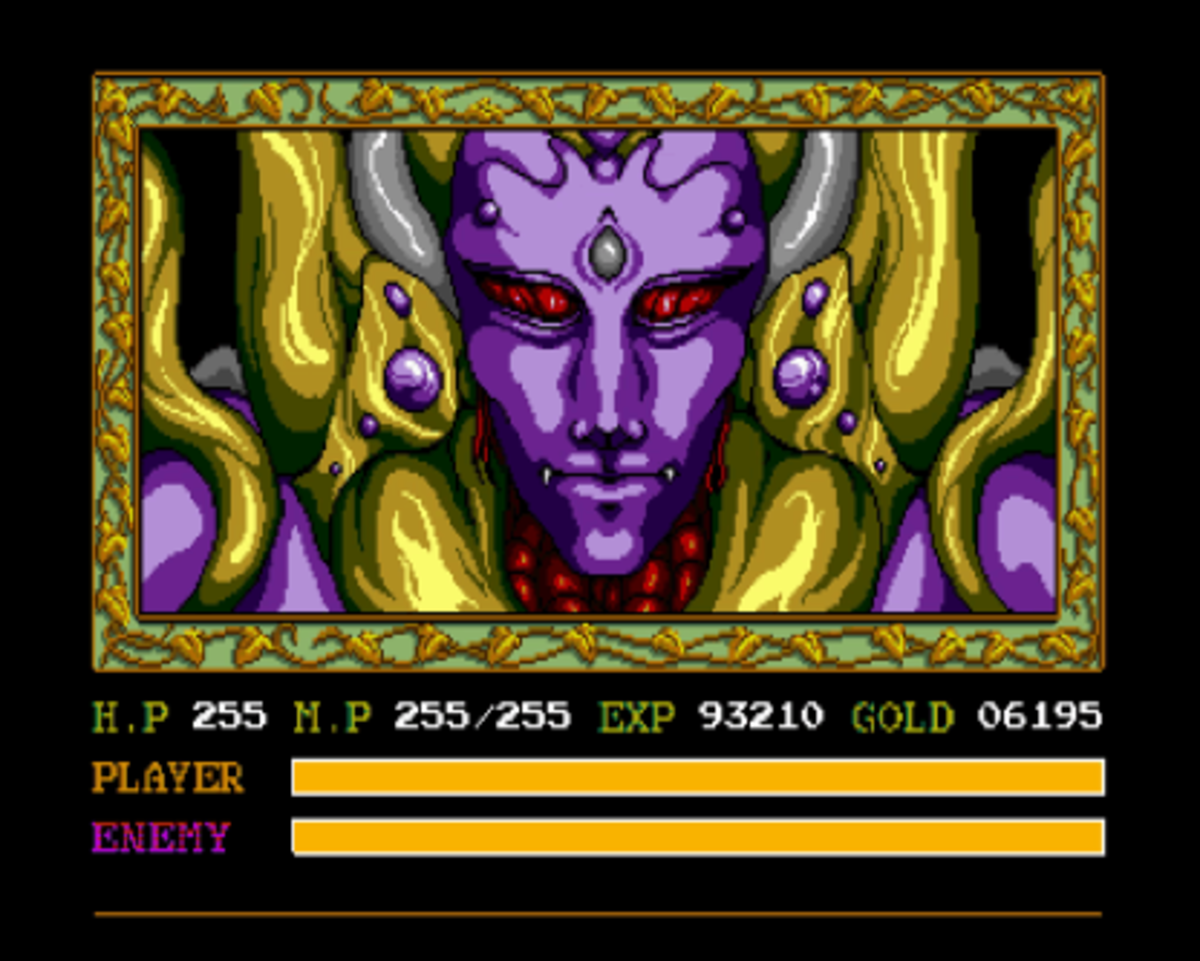 Darm, the villain of the story. Voiced by Alan Oppenheimer.