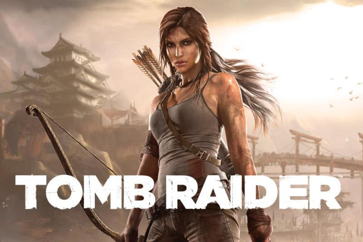 "Promotional image used on the official ""Tomb Raider"" Facebook page the day before the 2013 reboot was released."