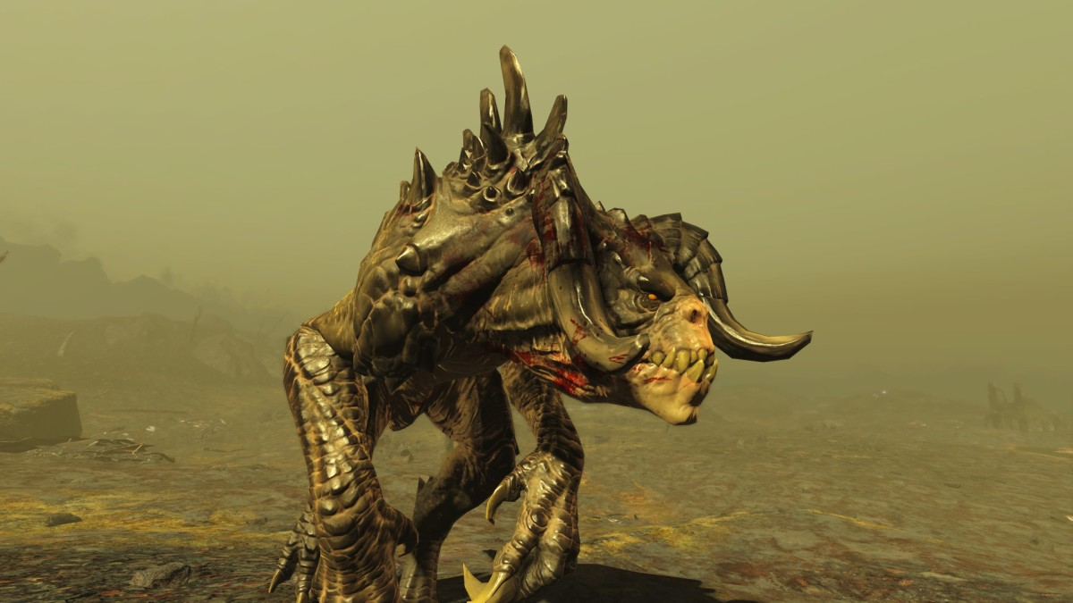 Isn't this Deathclaw beautiful?