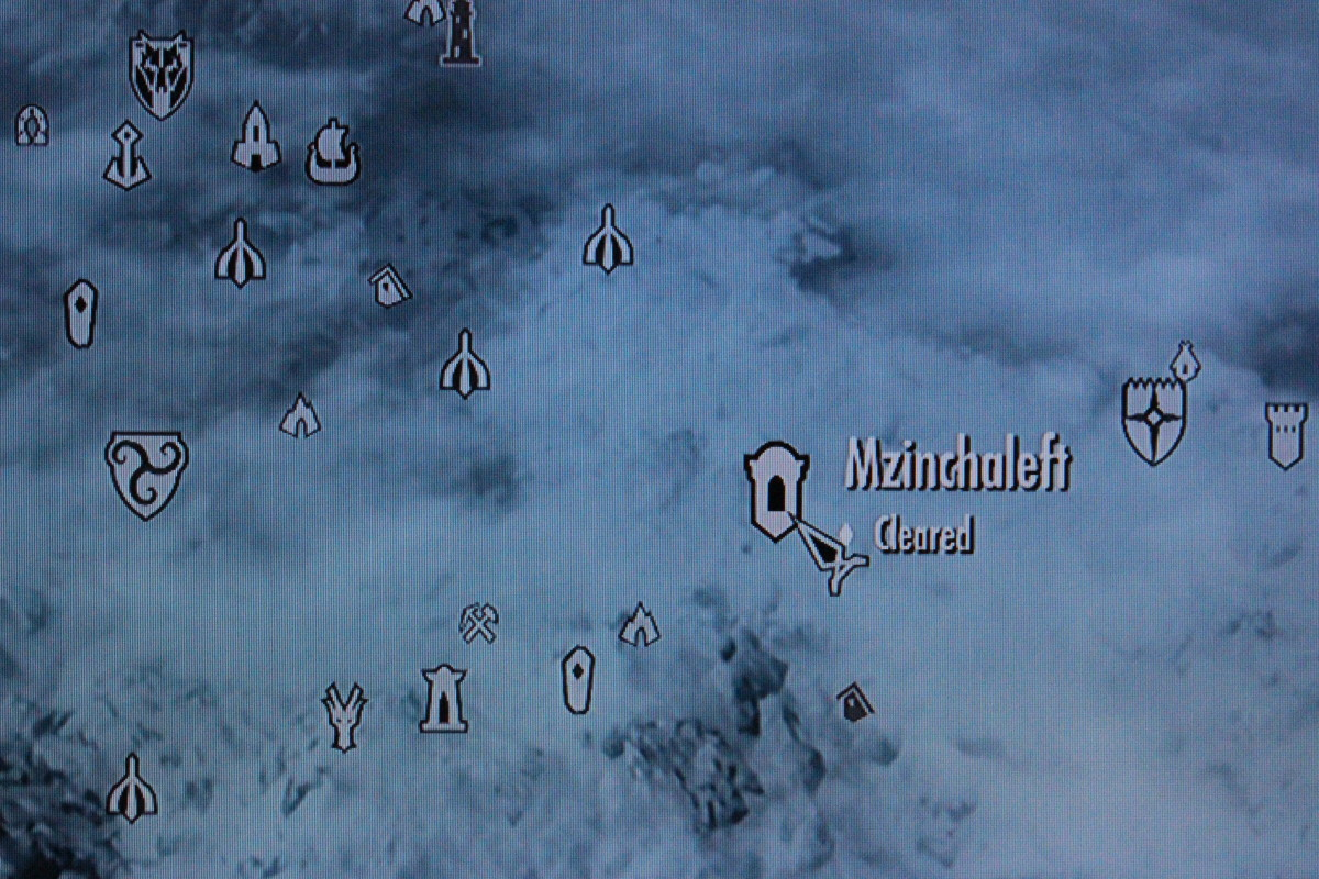 Between Dawnstar and Morthal