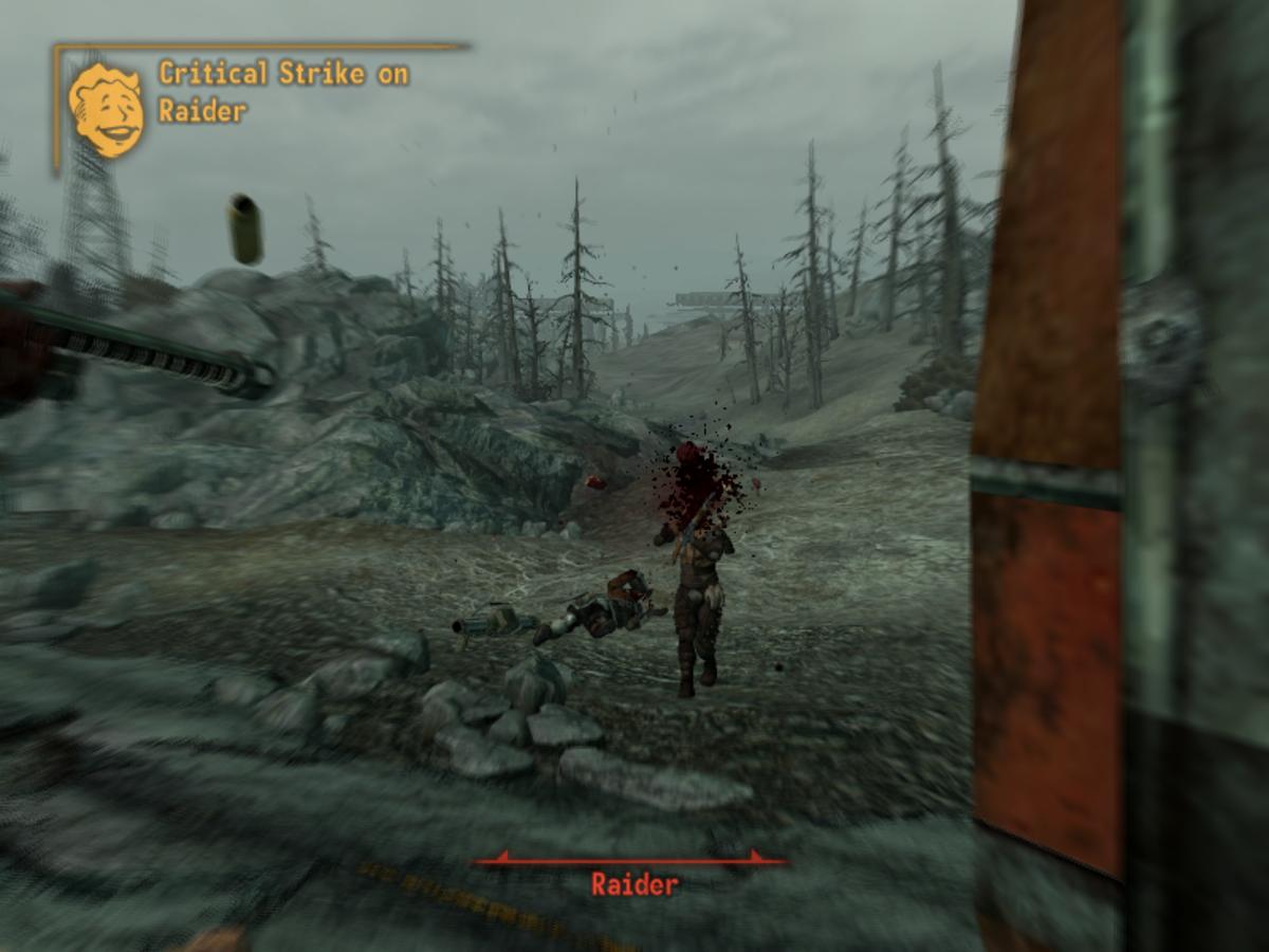 Critical on a Raider