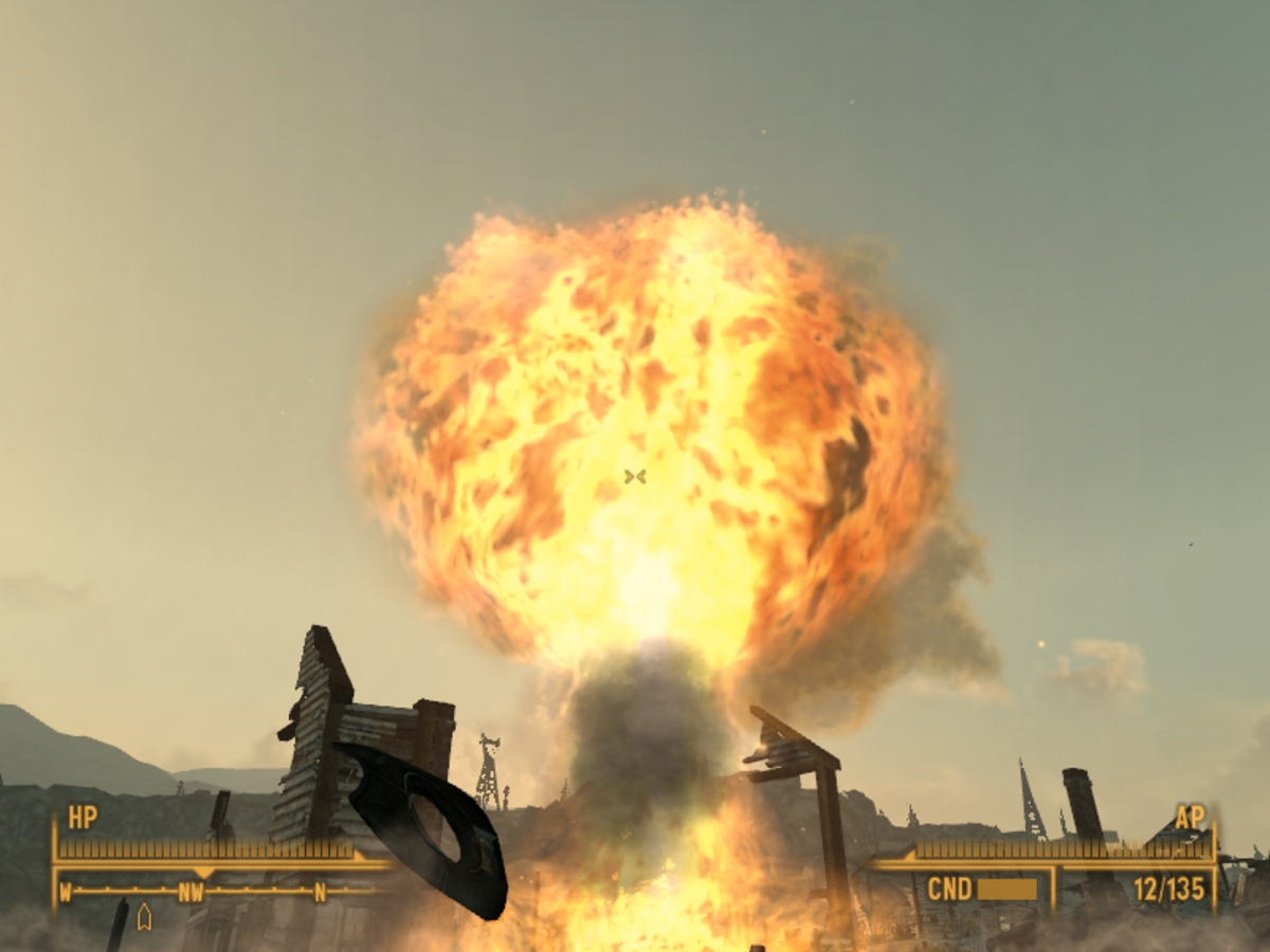 Fallout 3 Explosion