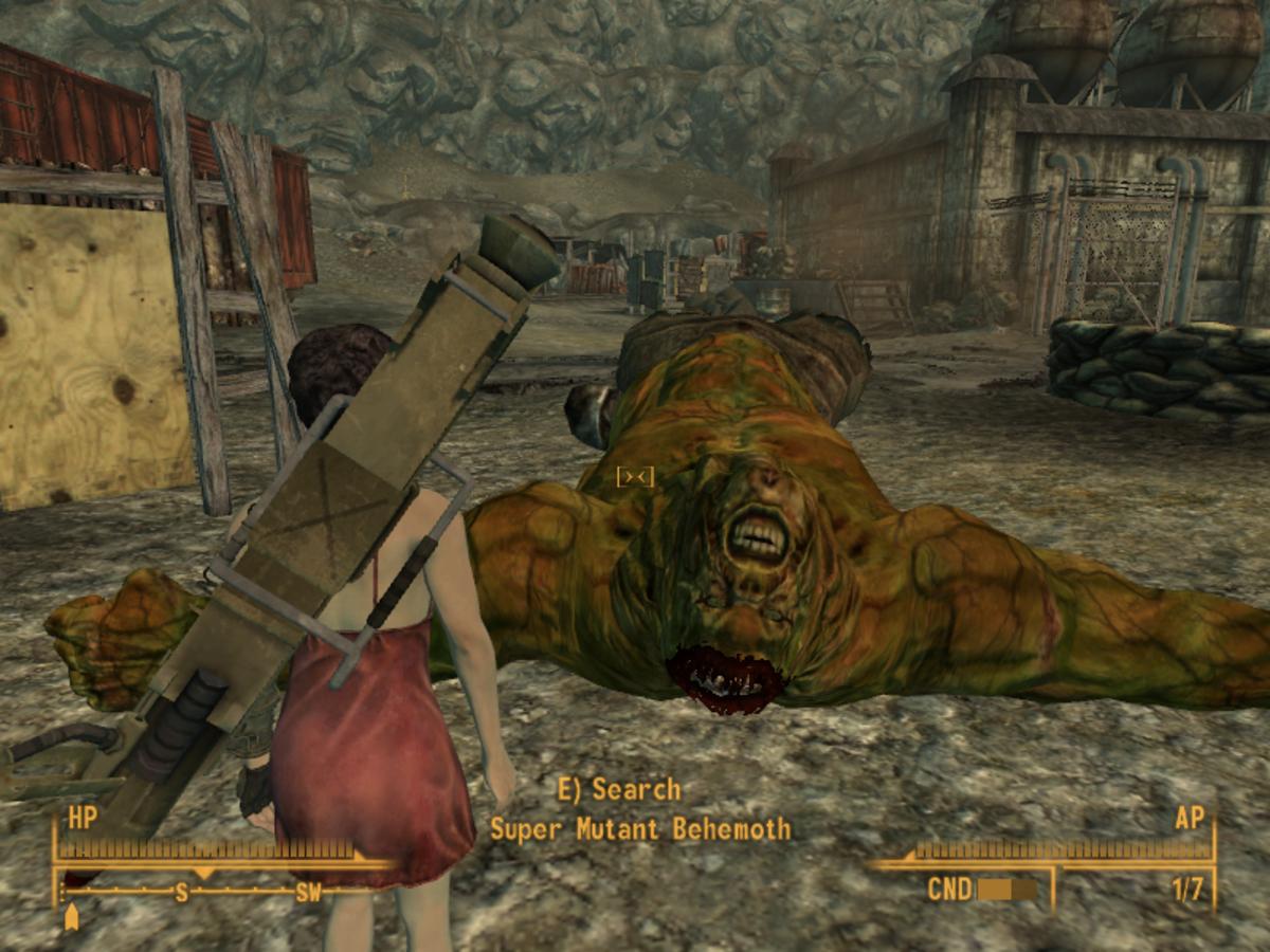 Dead Super Mutant Behemoth