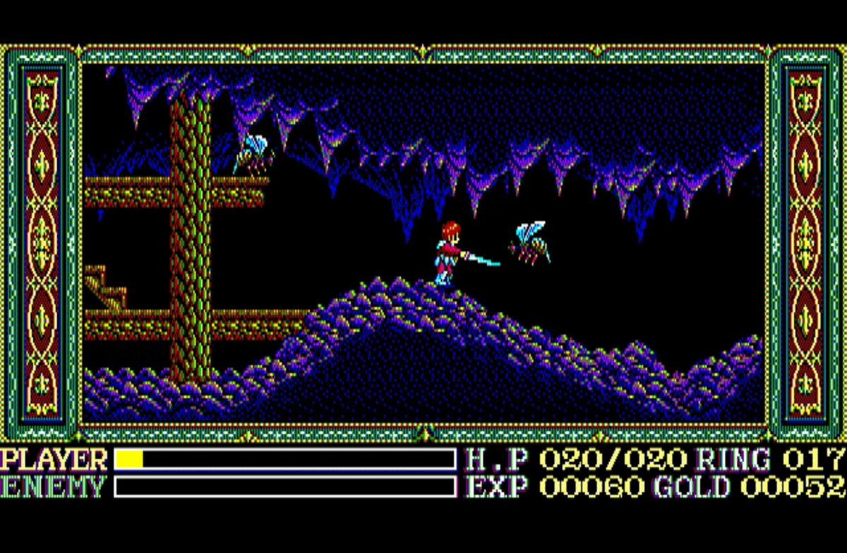 Wanderers From Ys on the PC-8801