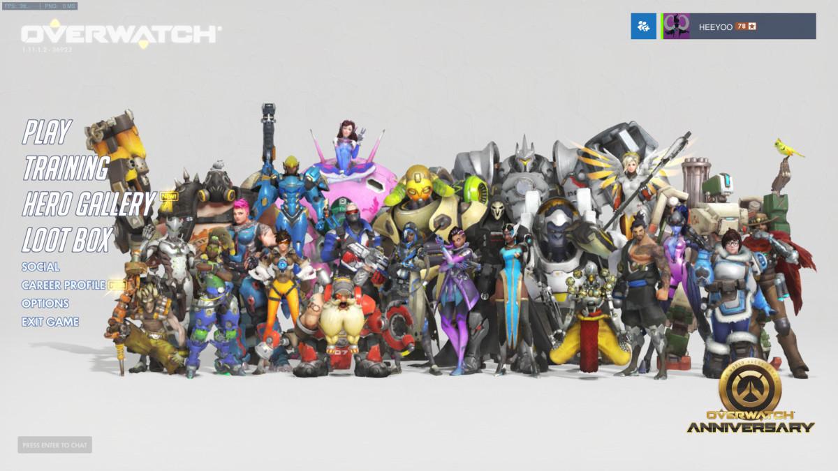Overwatch Menu