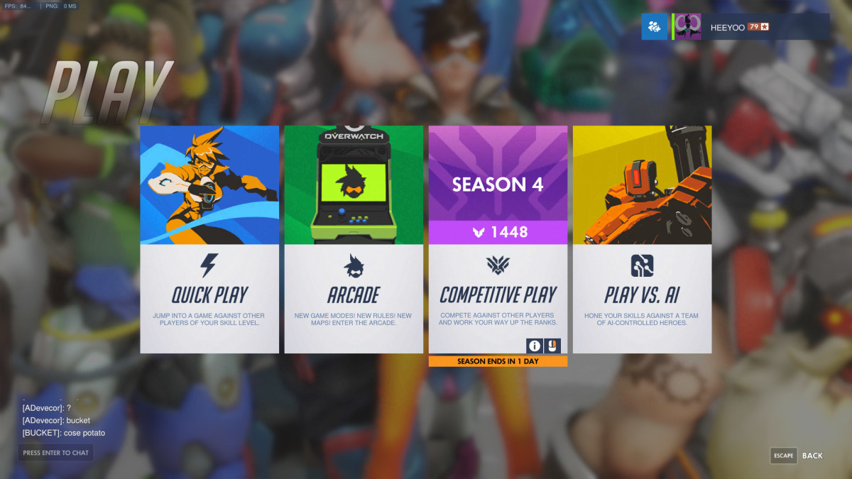 """Overwatch"" Game Modes"