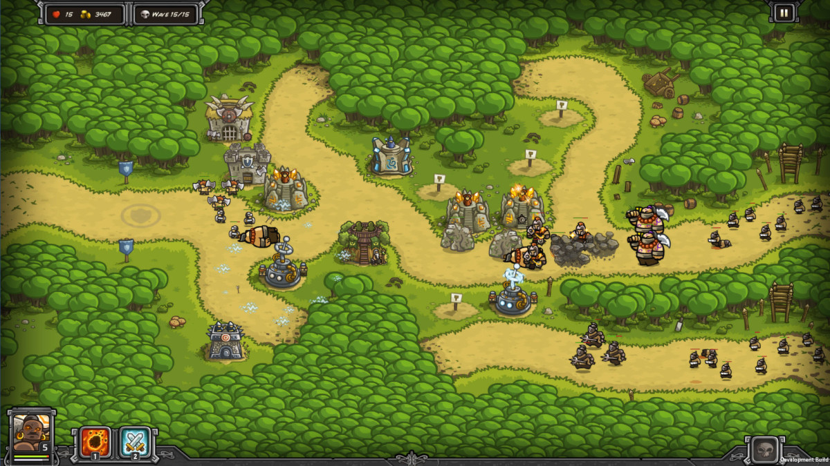 A level from Kingdom Rush