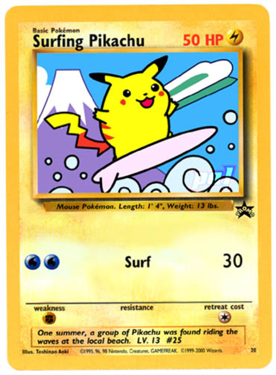 Surfing Pikachu