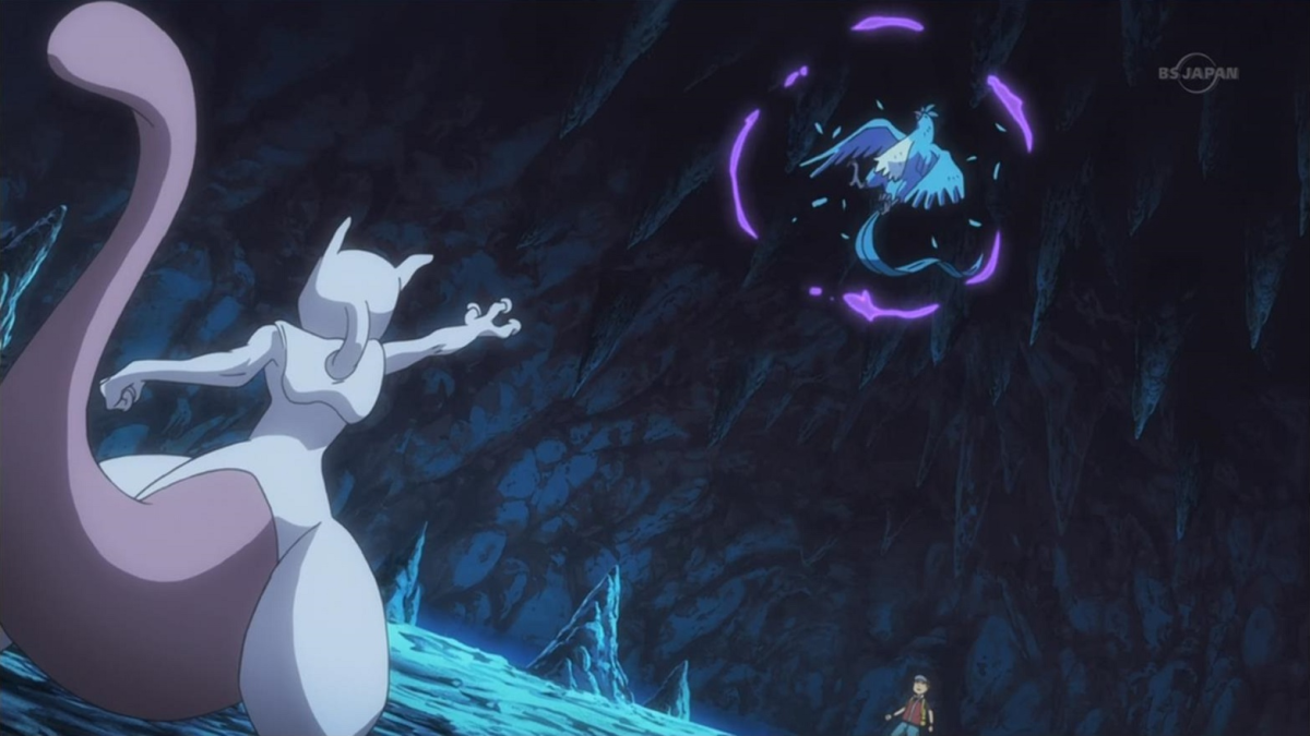 Mewtwo Using Psychic
