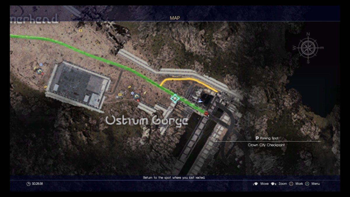 Ostrum Gorge is a hotbed of wealth early in the game!