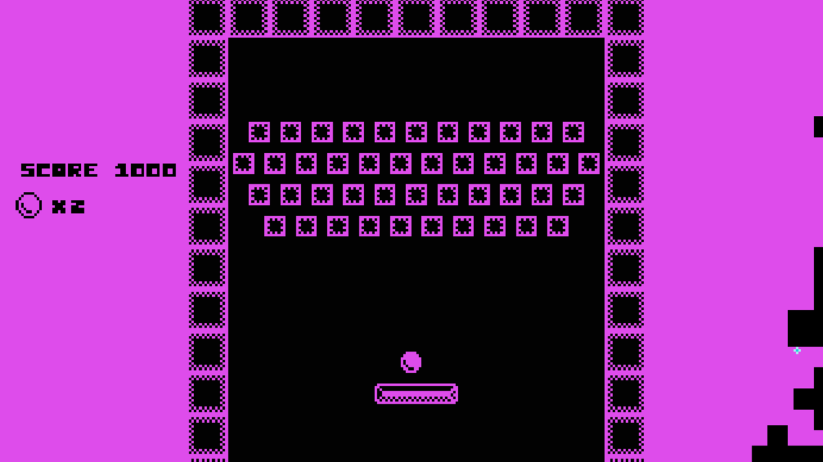 Breakout minigame in There Is No game