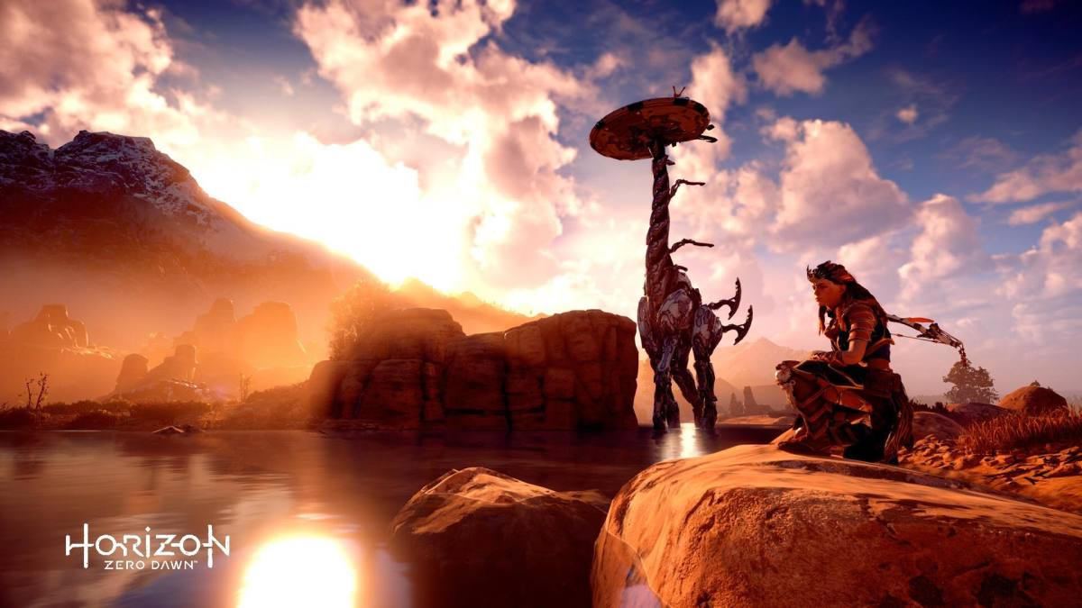 """A Tallneck in """"HZD."""""""