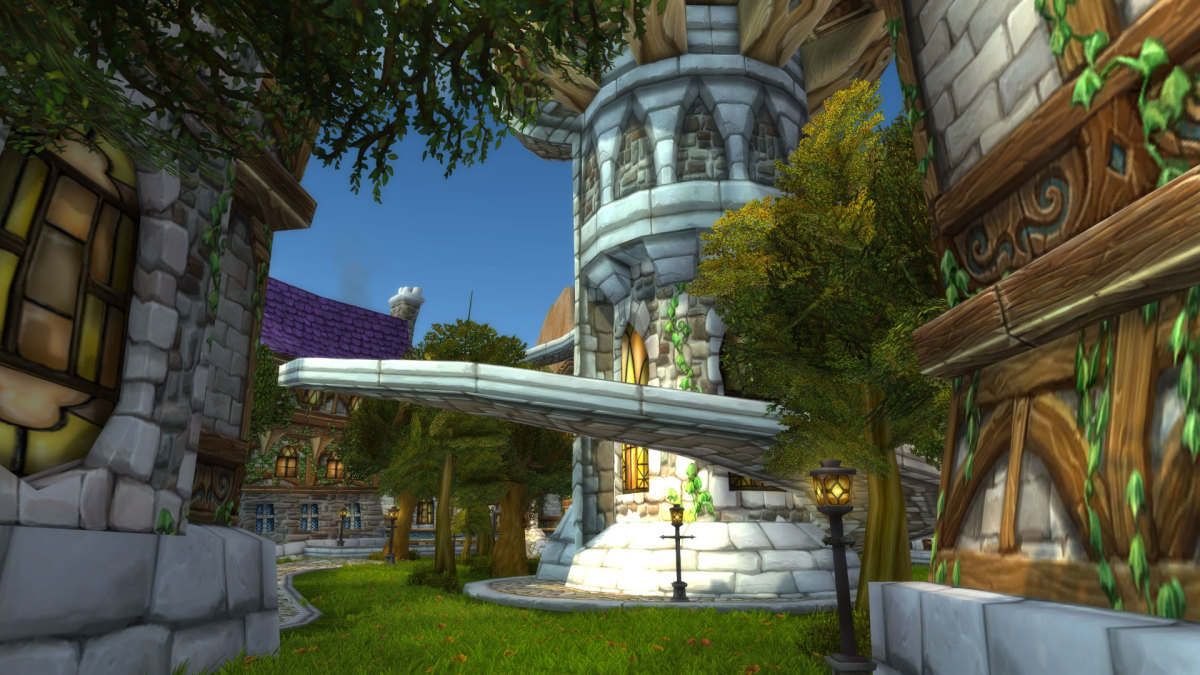 Tower in Mage Quarter