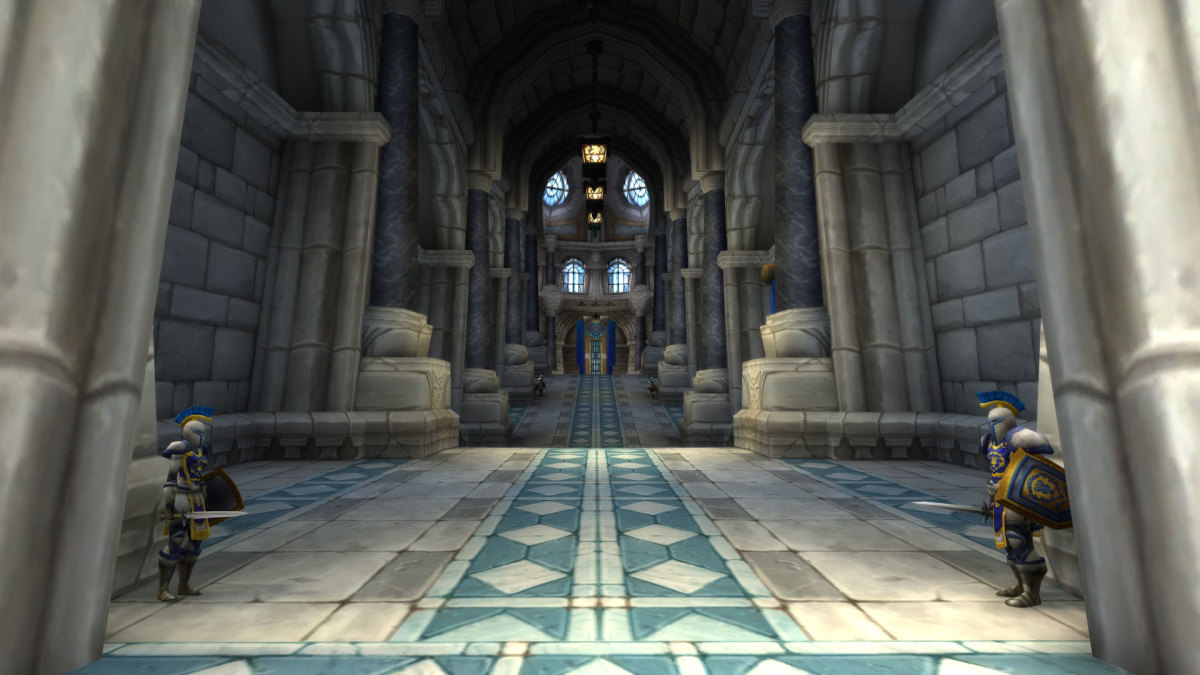 Path to the Throne Room