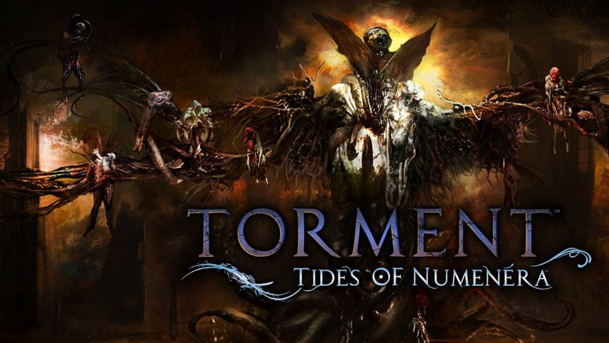 """""""Torment: Tides of Numenera"""" Cover"""