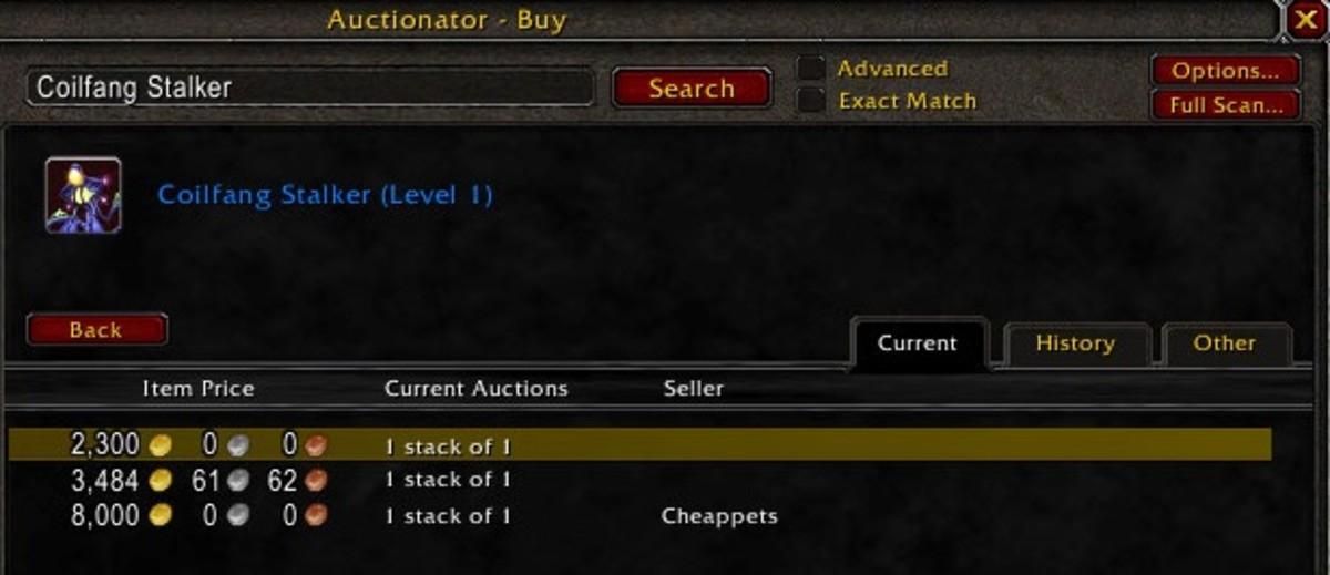 Coilfang Stalker Price