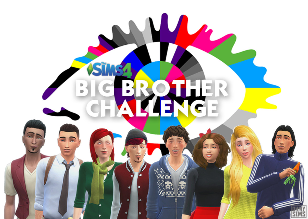 Play out The Big Brother in your Sims 4 game!  You're both Big Brother and the audience- all the decisions are up to you!