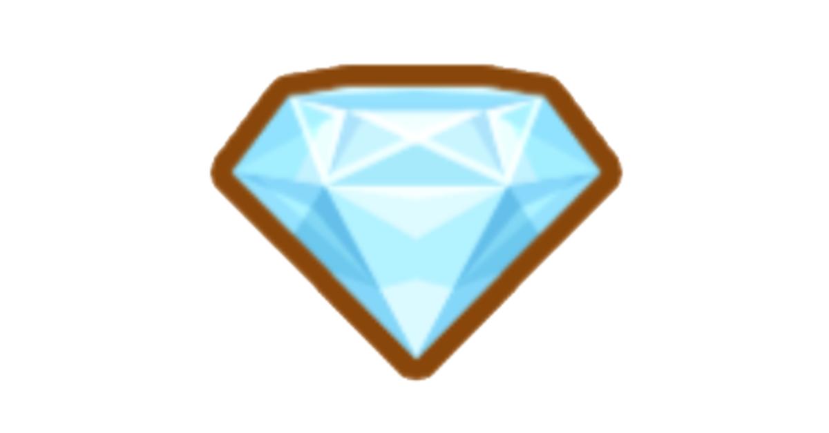 Claiming diamonds yields an achievement.