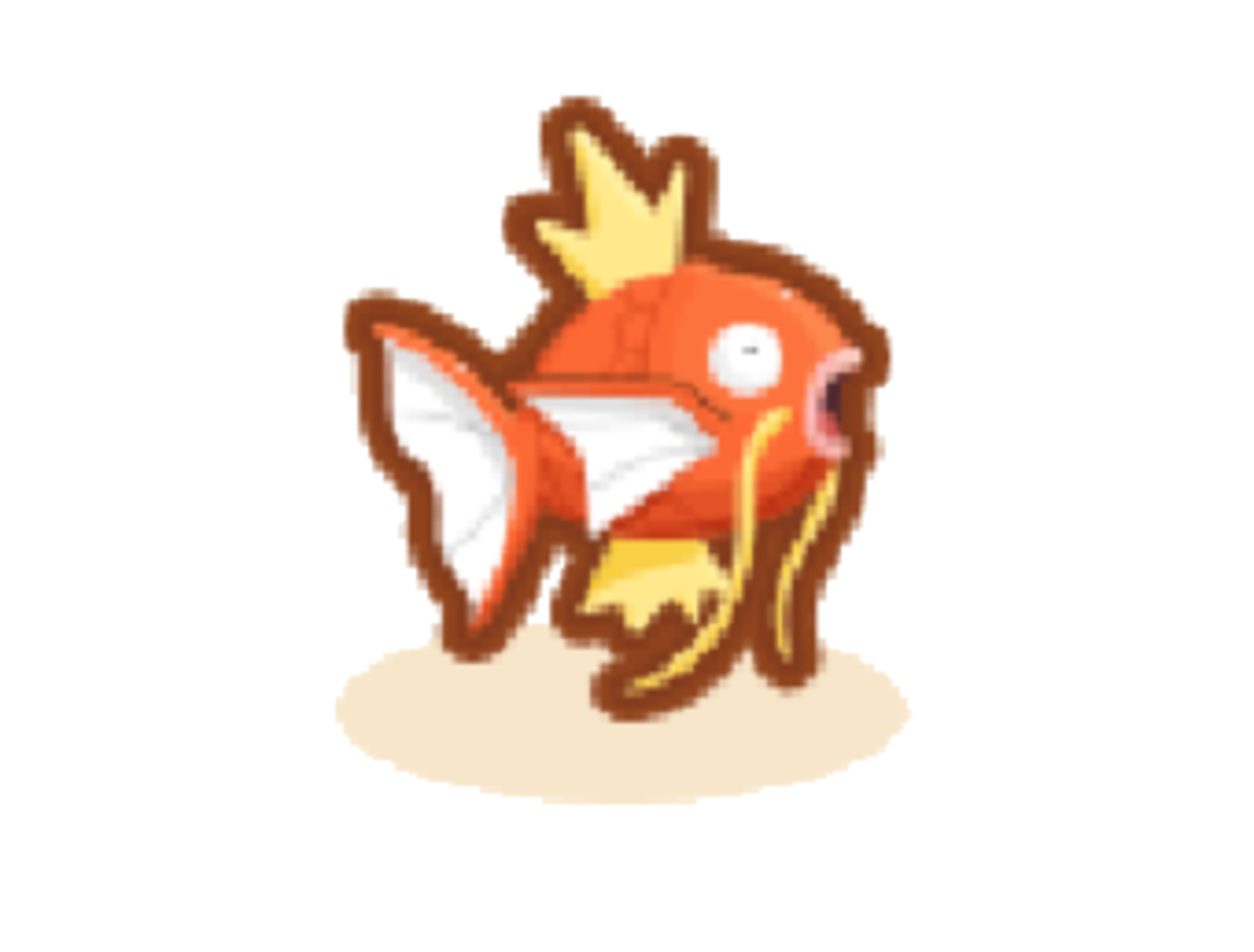 Discover many Magikarp patterns to earn this one.