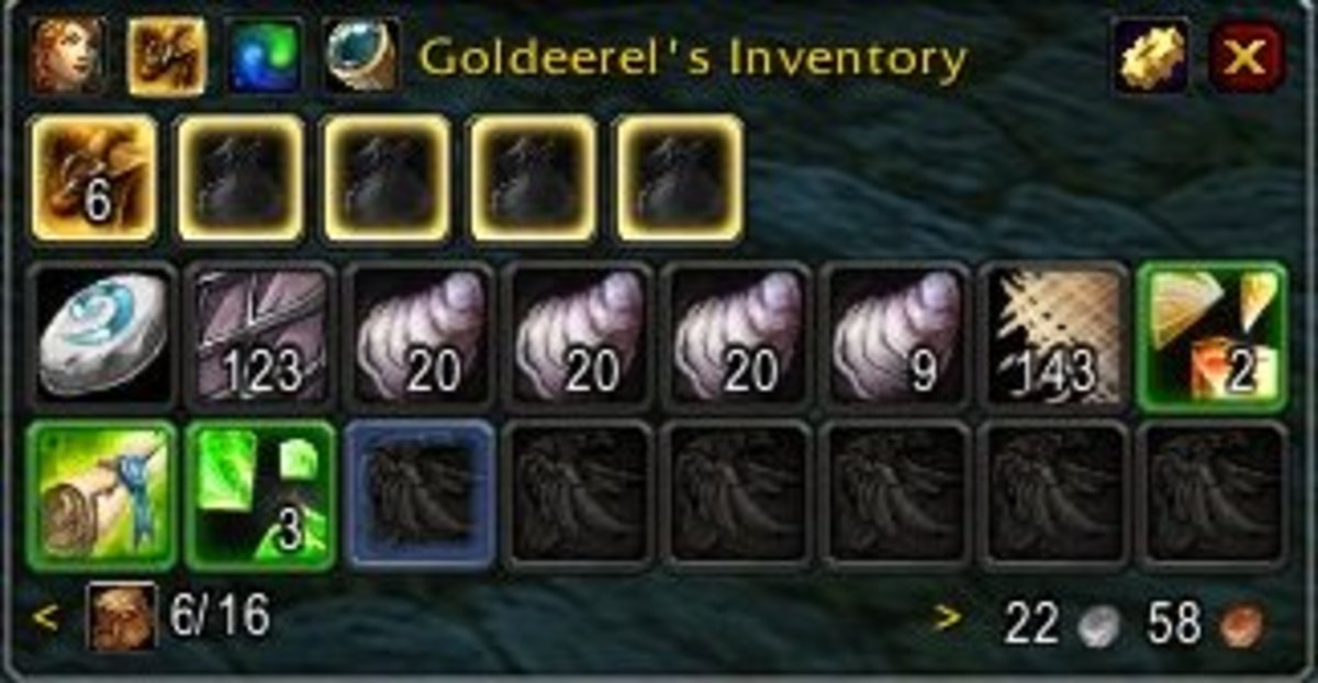 Inventory after 15 minutes