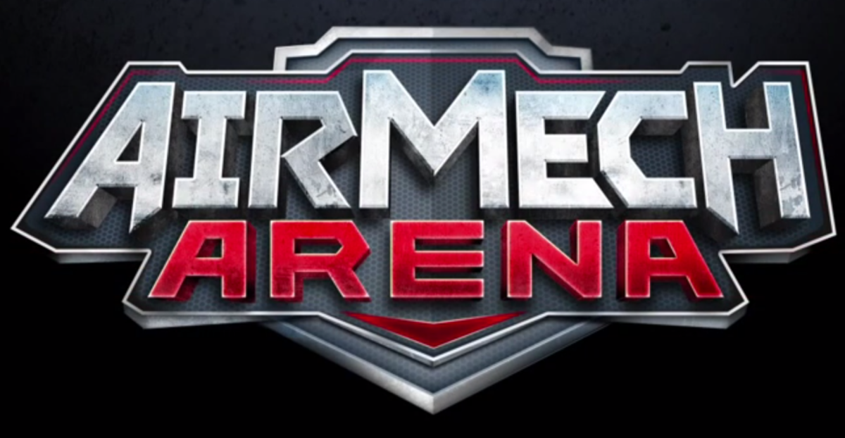 The AirMech Arena logo, used for console releases.