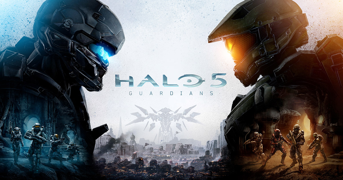 Teaser image of Xbox's exclusive Halo 5: Guardians.