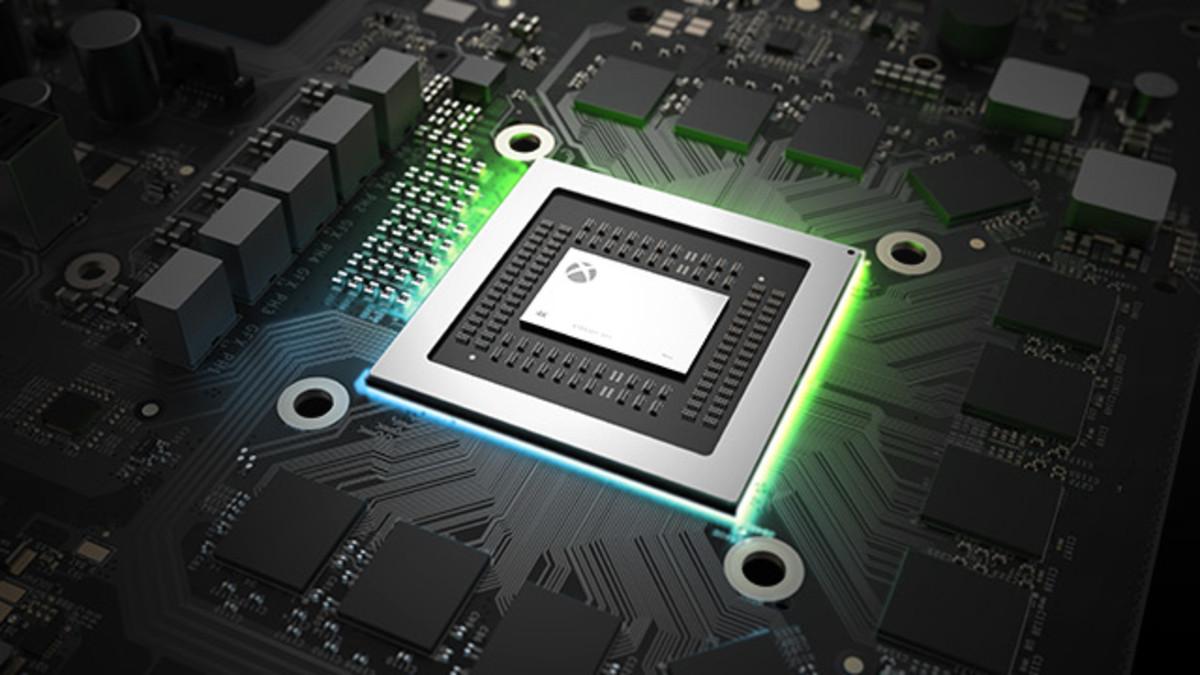 Illustration of the console's 'heart' (CPU/ GPU Unit)