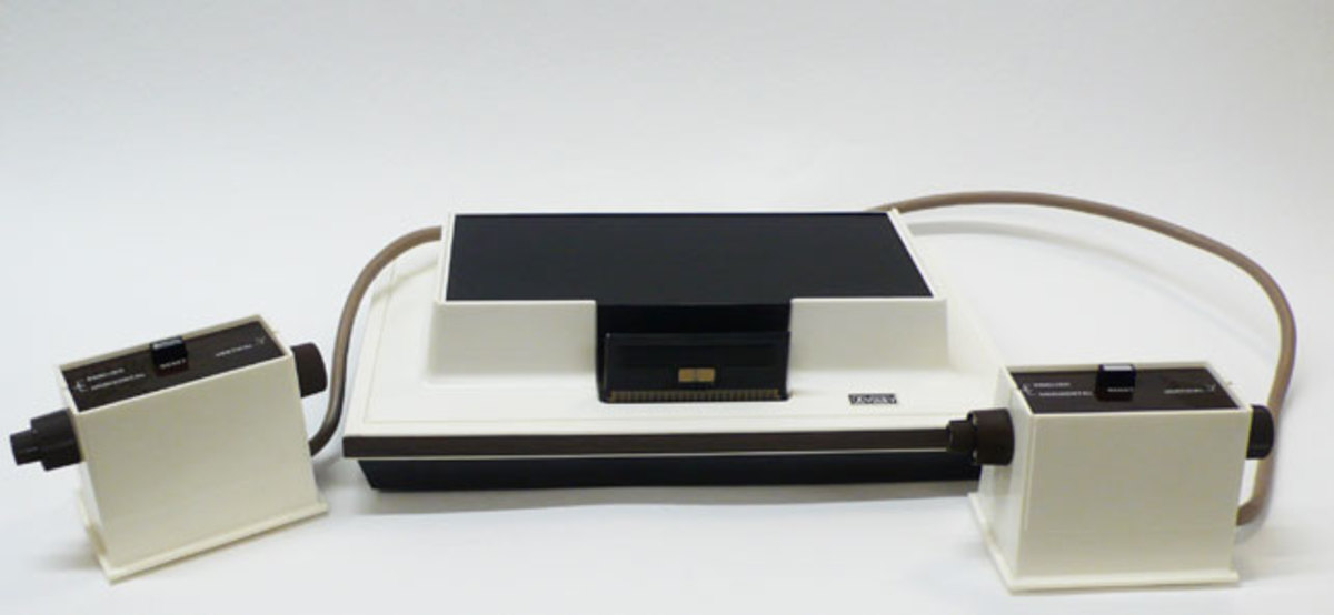 Magnavox Odyssey Console, the first successfully mass marketed video game console