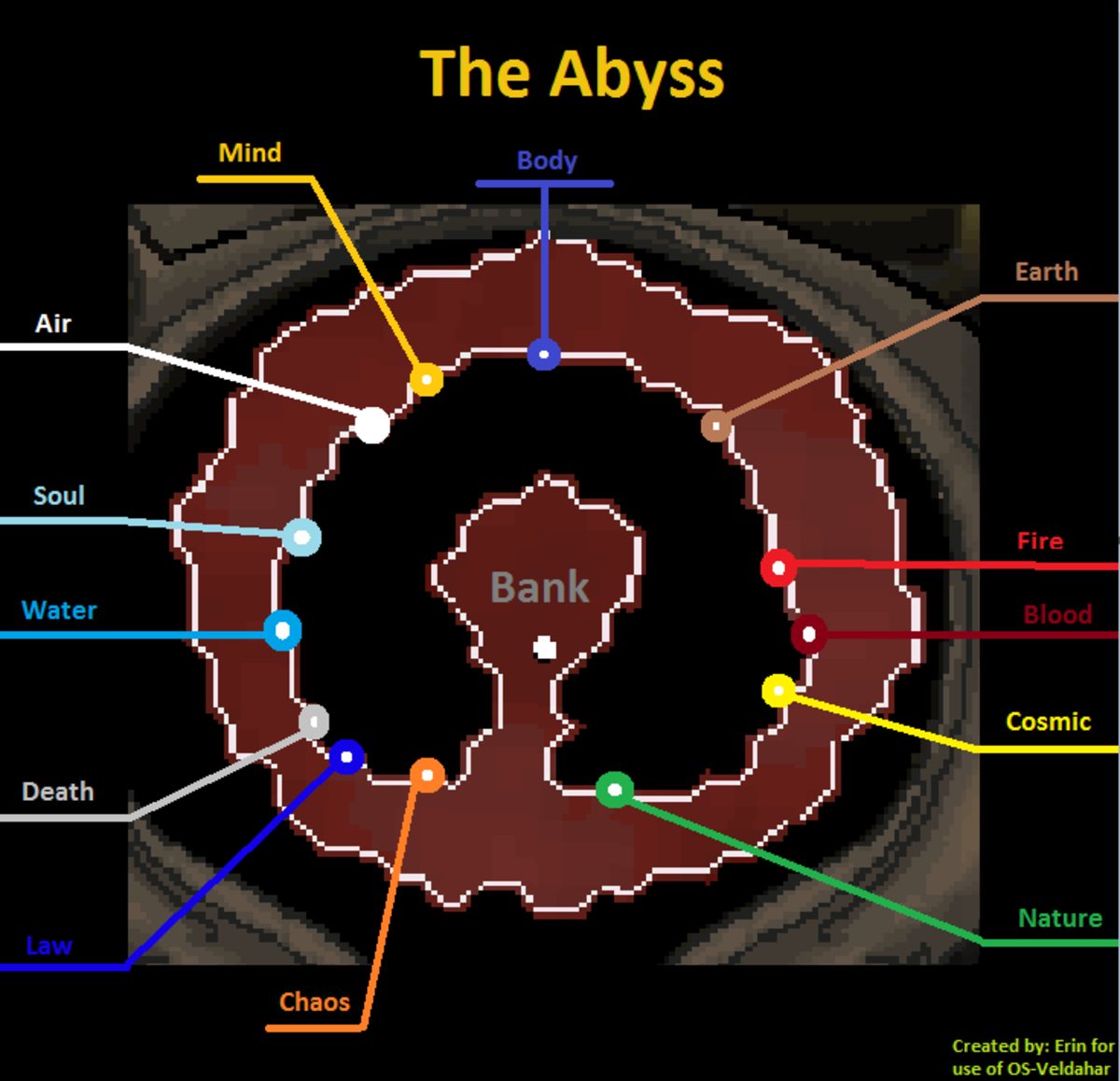Map of the Abyss.