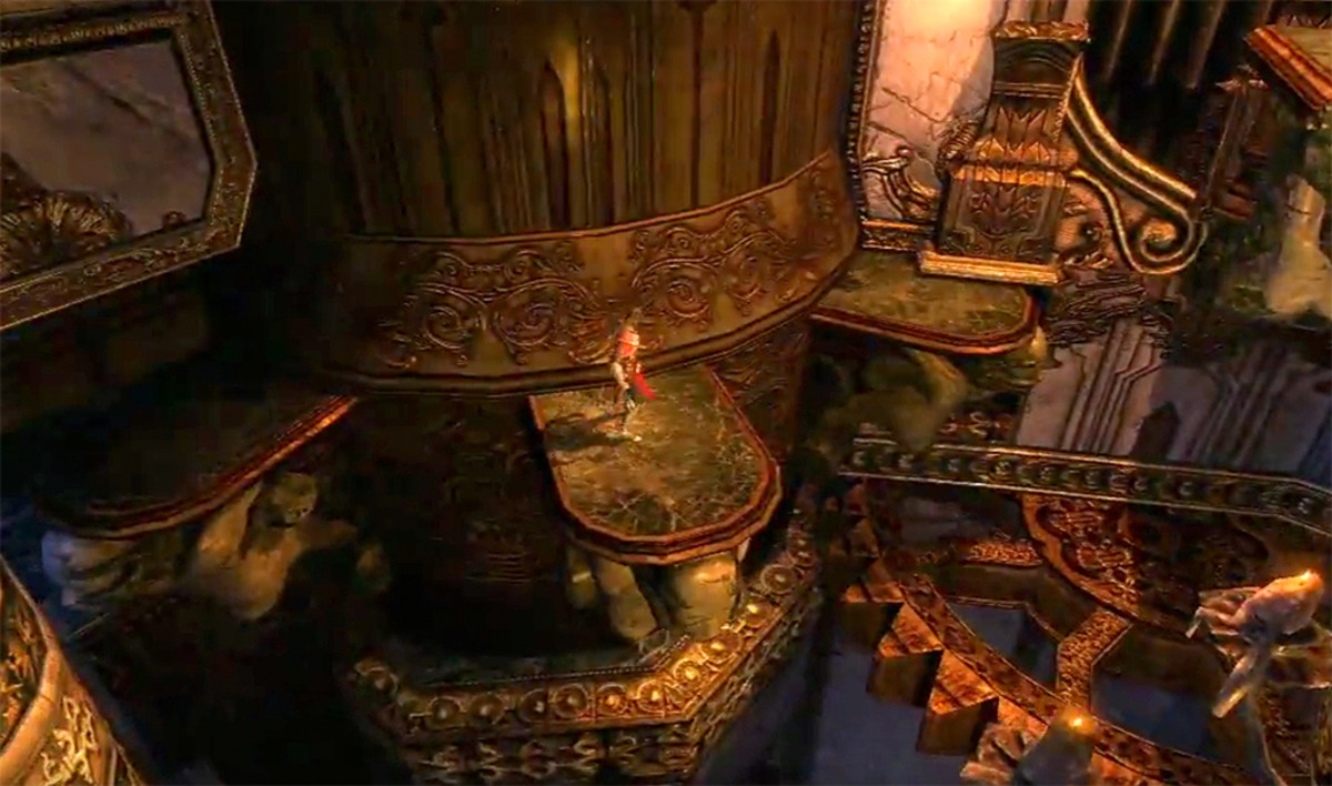 The clock tower stage, or clockwork tower, in Lords of Shadow.