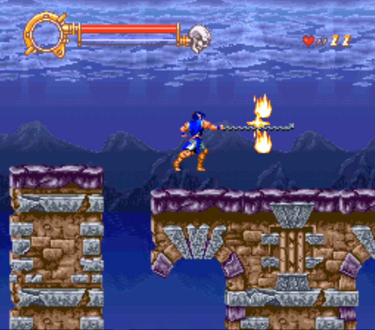 Rondo of Blood was ported over to the SNES as Dracula XX. Unfortunately, the reduced mechanics and gameplay did not go down well with gamers.
